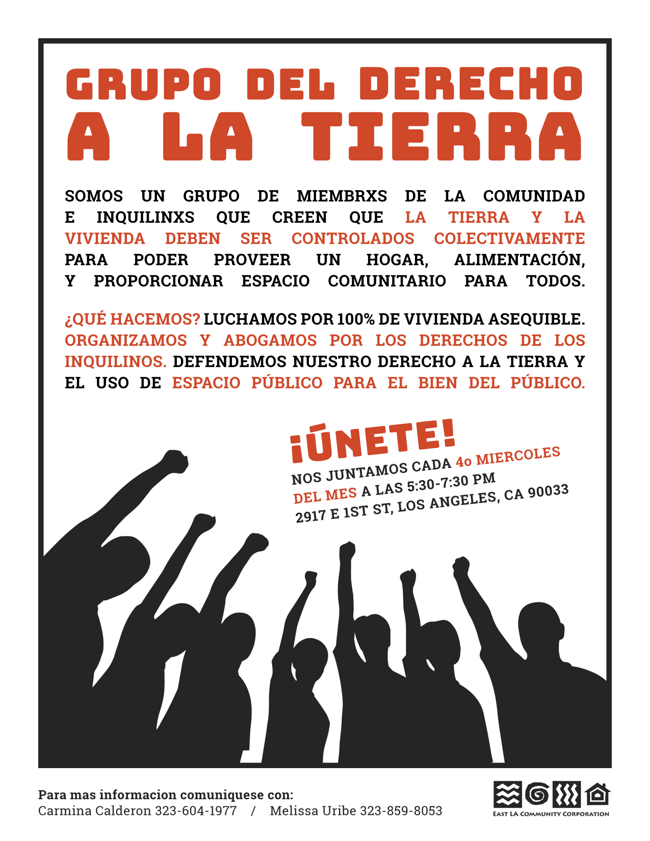 Groupo Del Derecho a la Tierra - East LA Community Corporation